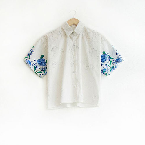 Short Sleeve Shirt by Julie White | Second Floor Flat