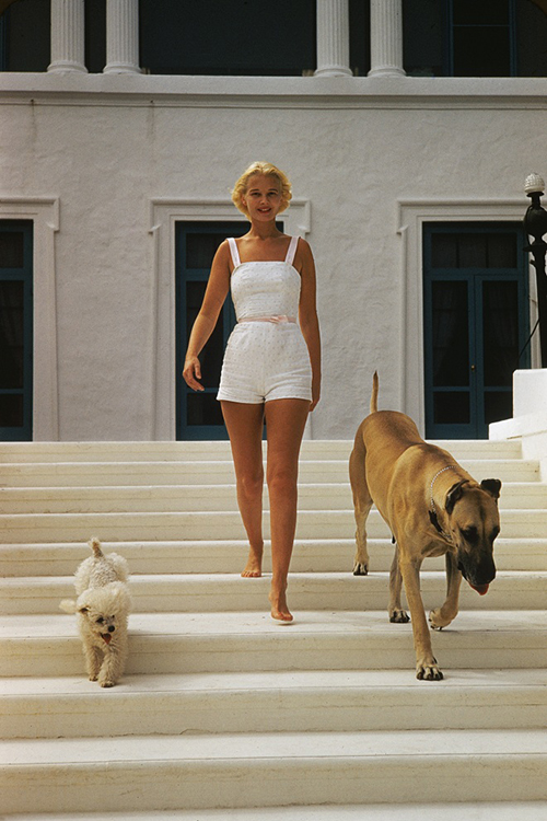C.Z. Guest by Slim Aarons