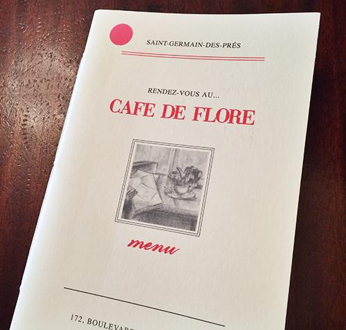 Cafe de Flore, Paris | Second Floor Flat