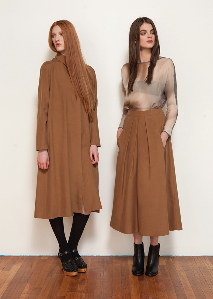 Megan Huntz FW 2015 | Second Floor Flat
