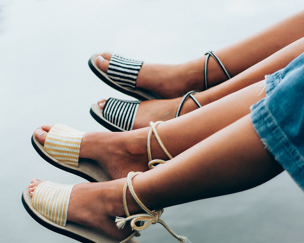 Someware's Lace-Up Sandals | Second Floor Flat