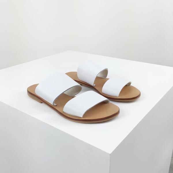 St. Agni Keiko Double-Strap Slides