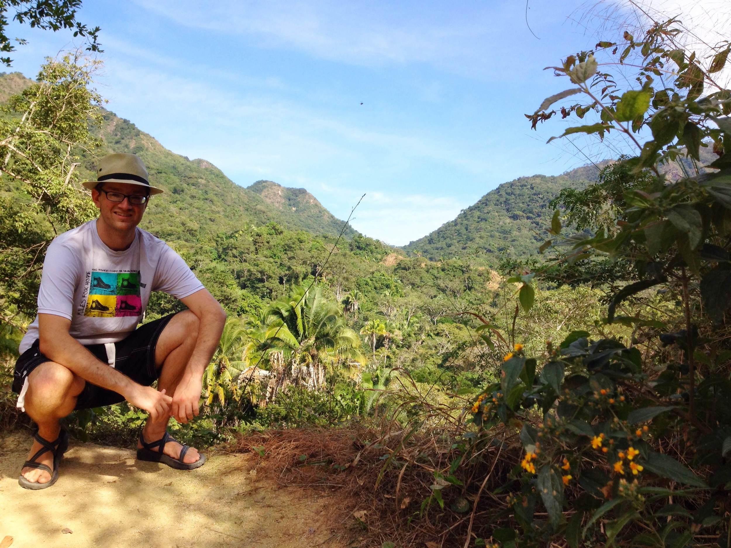 Enjoying life while hiking in Mismaloya, Mexico