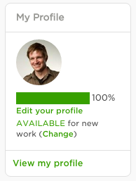 Pay attention to your profile completeness percentage on the home page dashboard. Do everything Upwork asks to get this to 100%