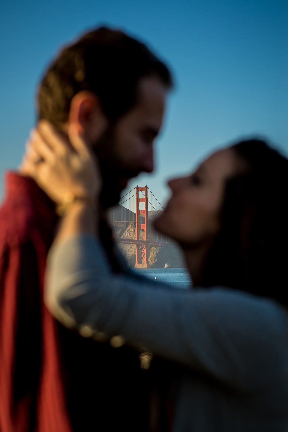 Hermione and Serhan's engagement in San Francisco