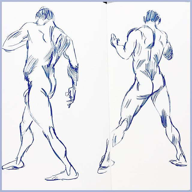 Life drawing from a few days ago, swipe right to see earlier drawings in this session (when I was rusty af 😅) #sketchbook #moleskine #lifedrawing #personalwork #yeydrawingthings #haventdrawninawhile