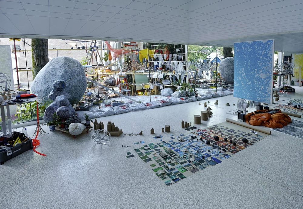Triple Point (Observatory) , 2013. © Sarah Sze, courtesy of the artist, Tanya Bonakdar Gallery, New York, and Victoria Miro Gallery, London.