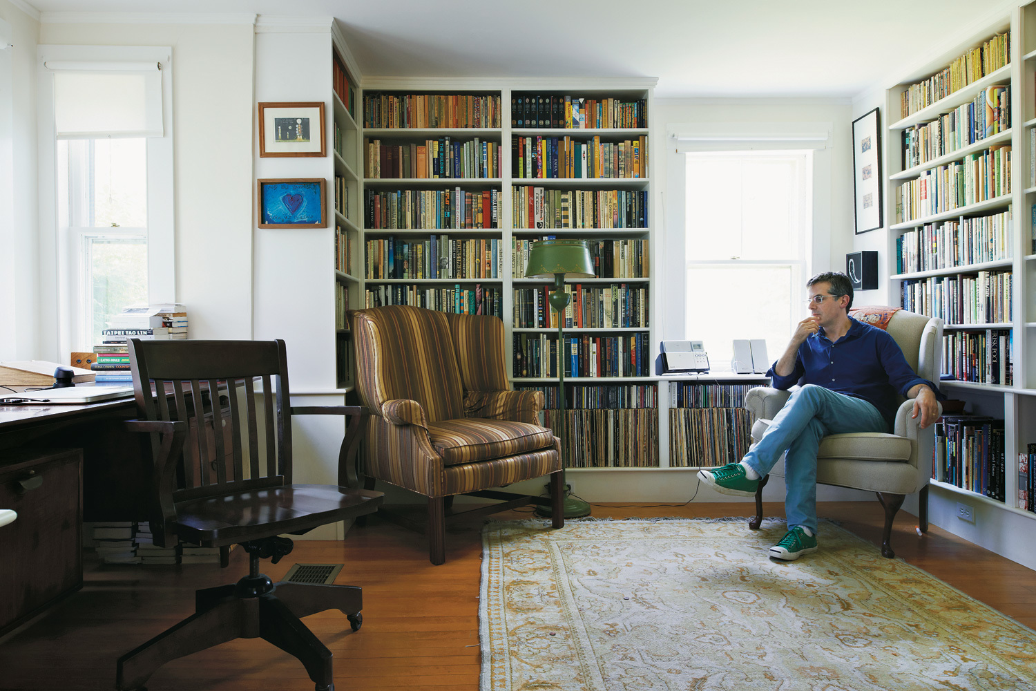 Jonathan Lethem. All photos by John Spinks for T Magazine.