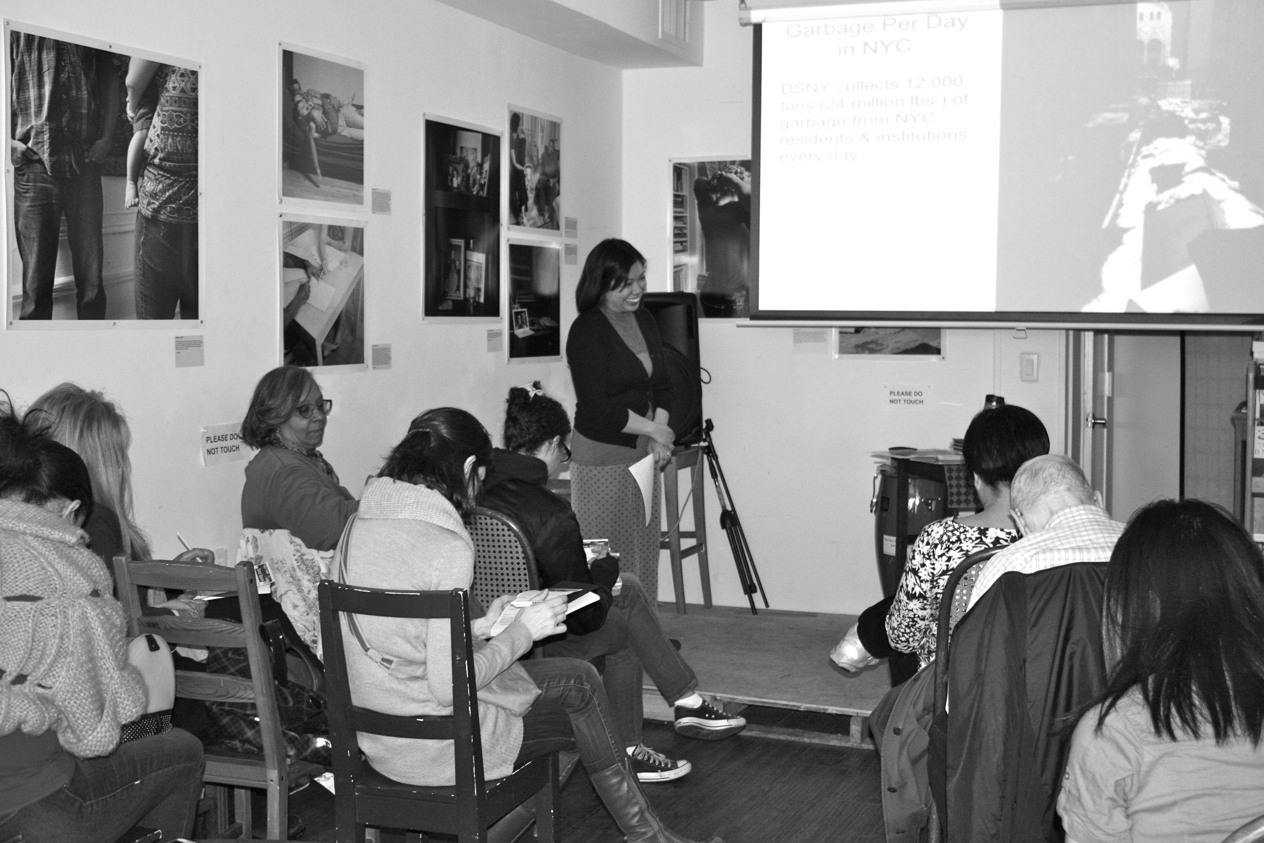 DIY Organizing Workshop at  Word Up Community Bookstore . Photo by John Wyszniewski.
