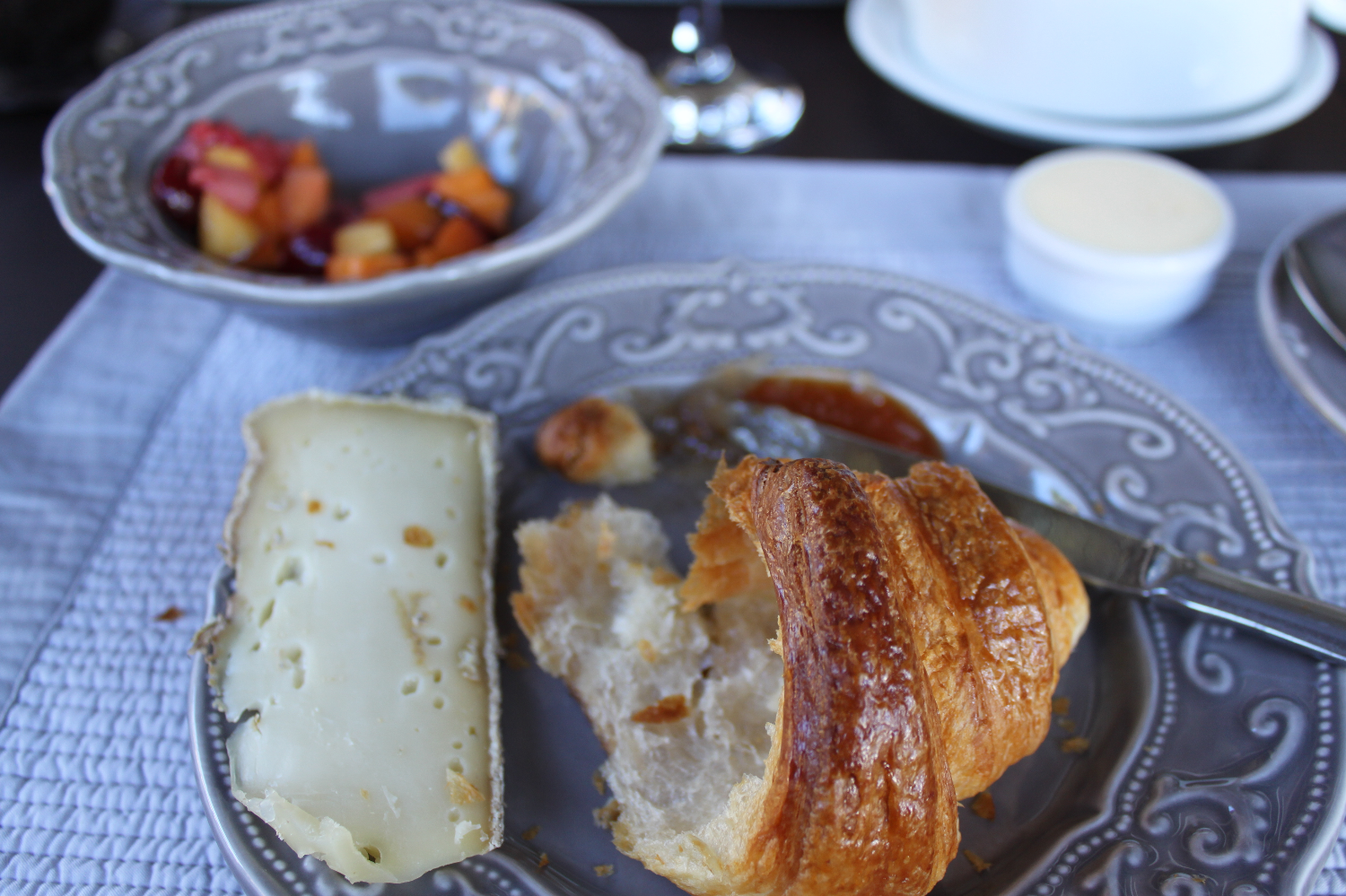 Croissant in Provence