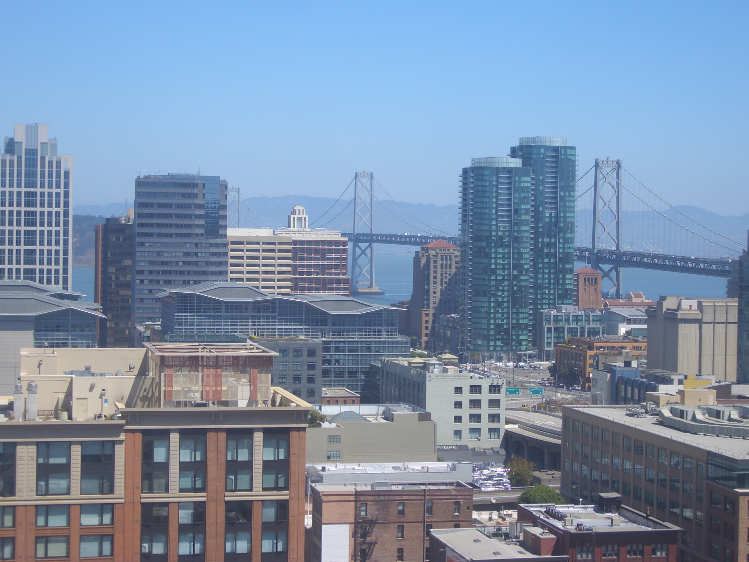 View from the W hotel sf