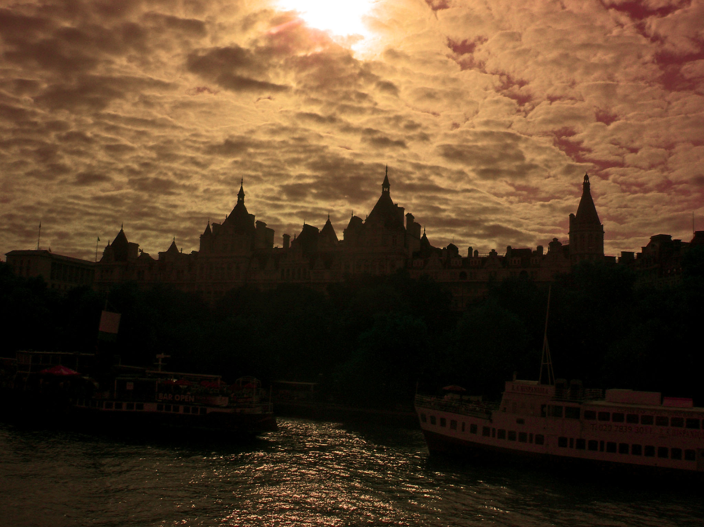 London skyline edited