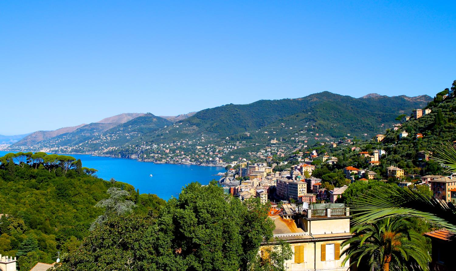 Good morning! First morning on the Italian Riviera. Not too shabby!