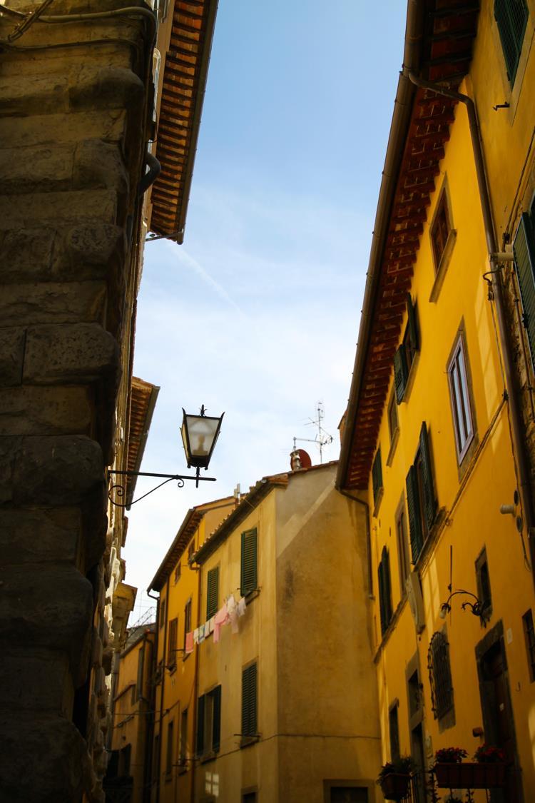 Streets of Cortona.
