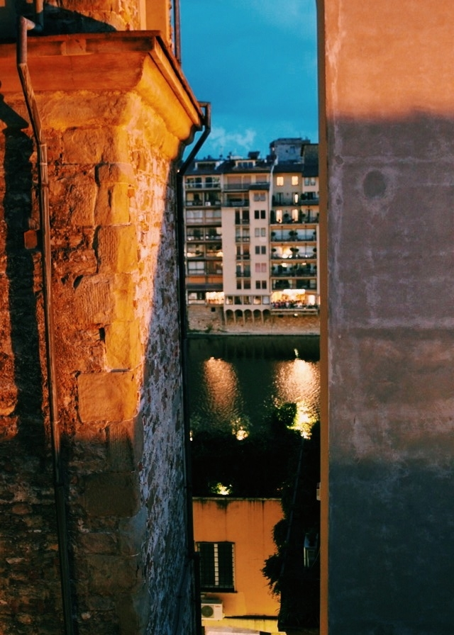 View from hotel room, Florence.