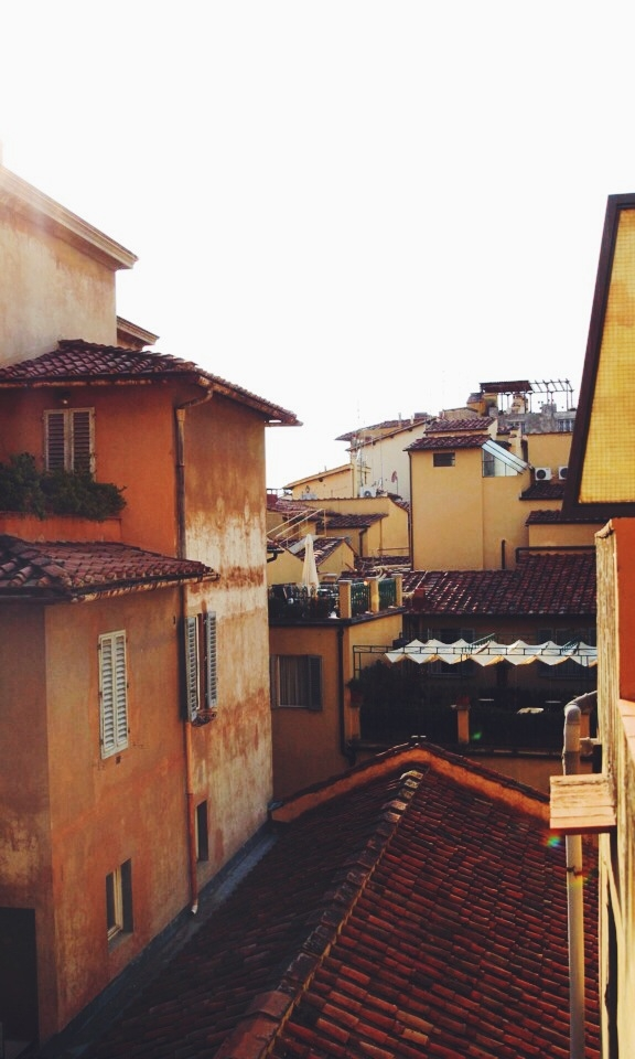Rooftops of Florence.