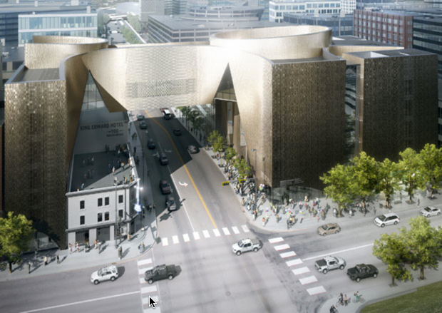 Representation of the future National Music Centre in YYC. Photo credit: www.nmc.ca