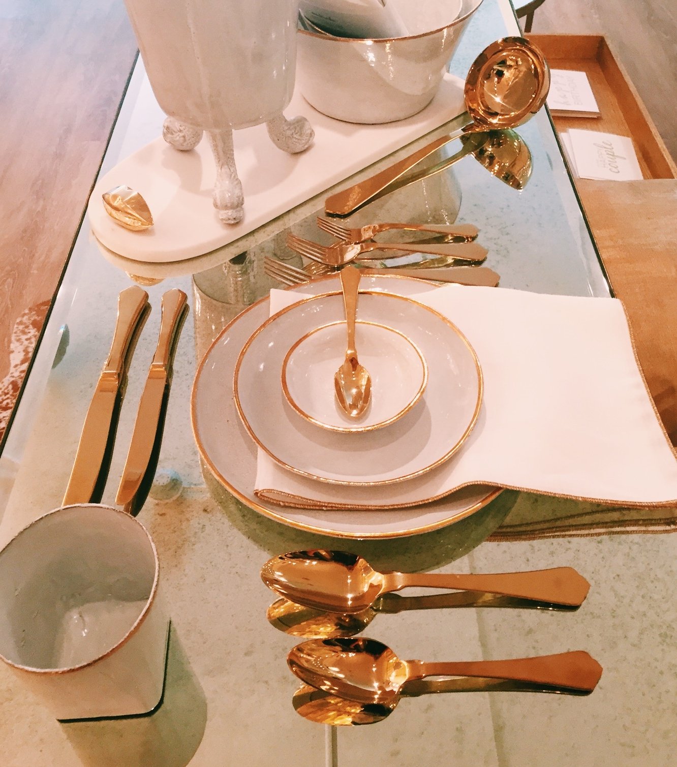 Fine china selection at Modern Duke Home Decor.