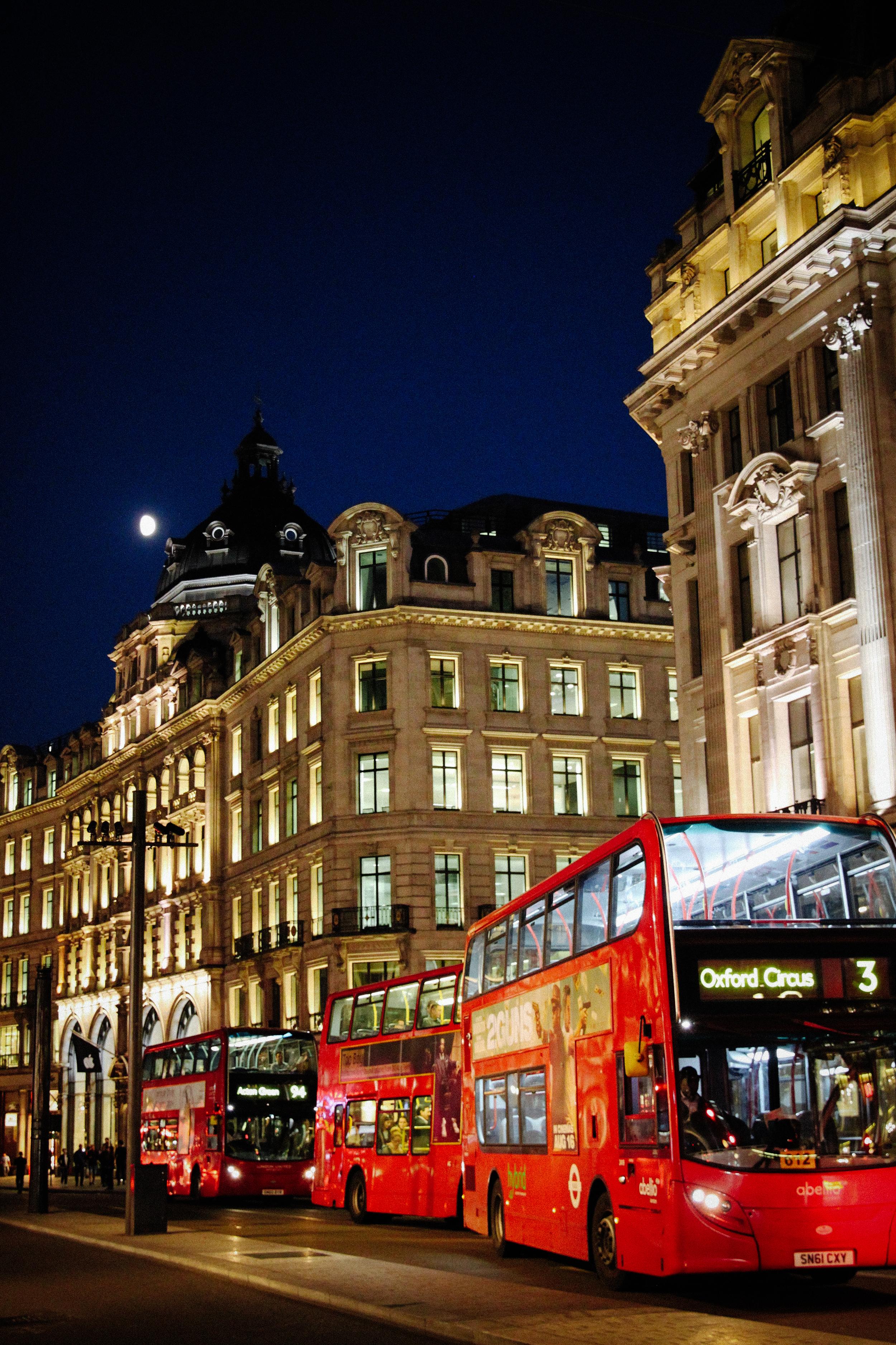 Regent Street, Oxford Circus.