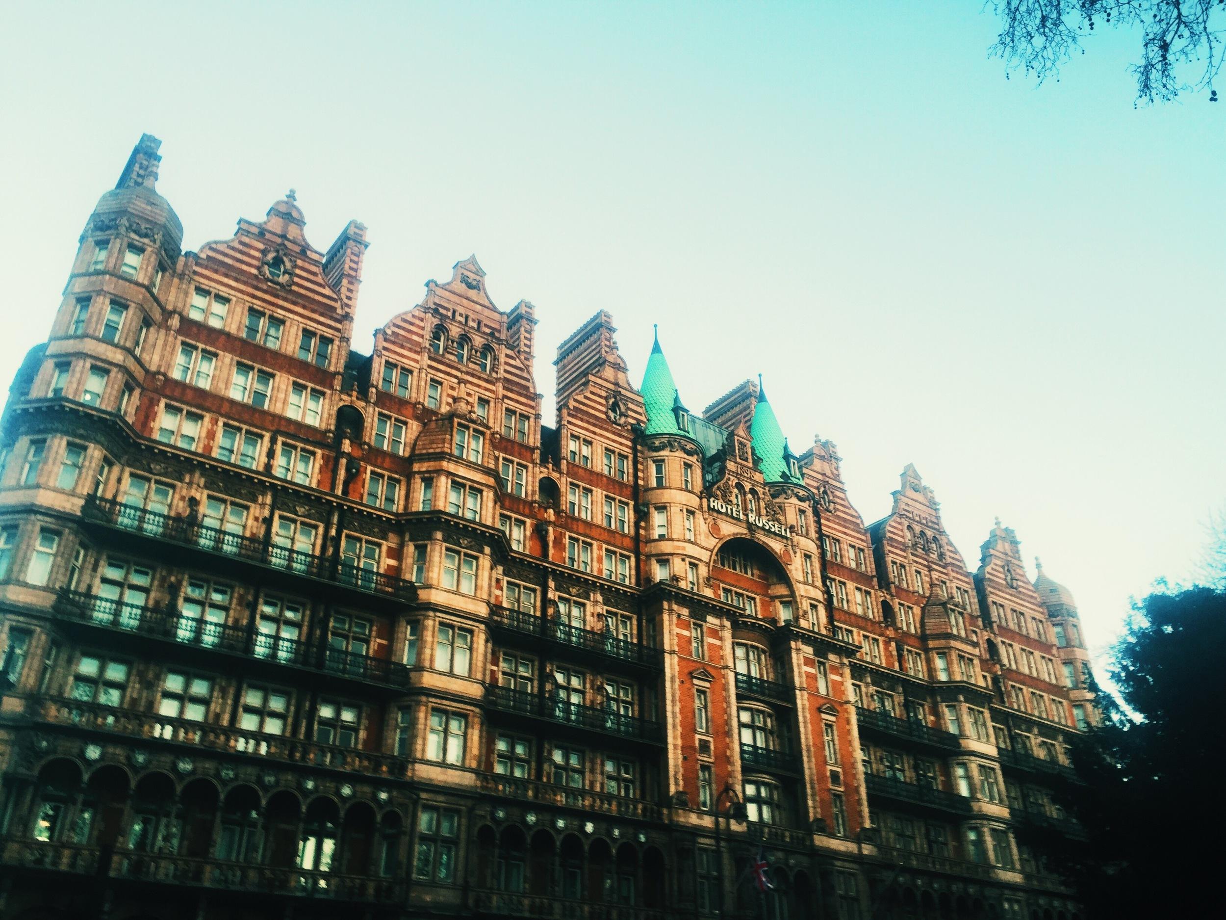 Hotel Russel,  Bloomsbury.
