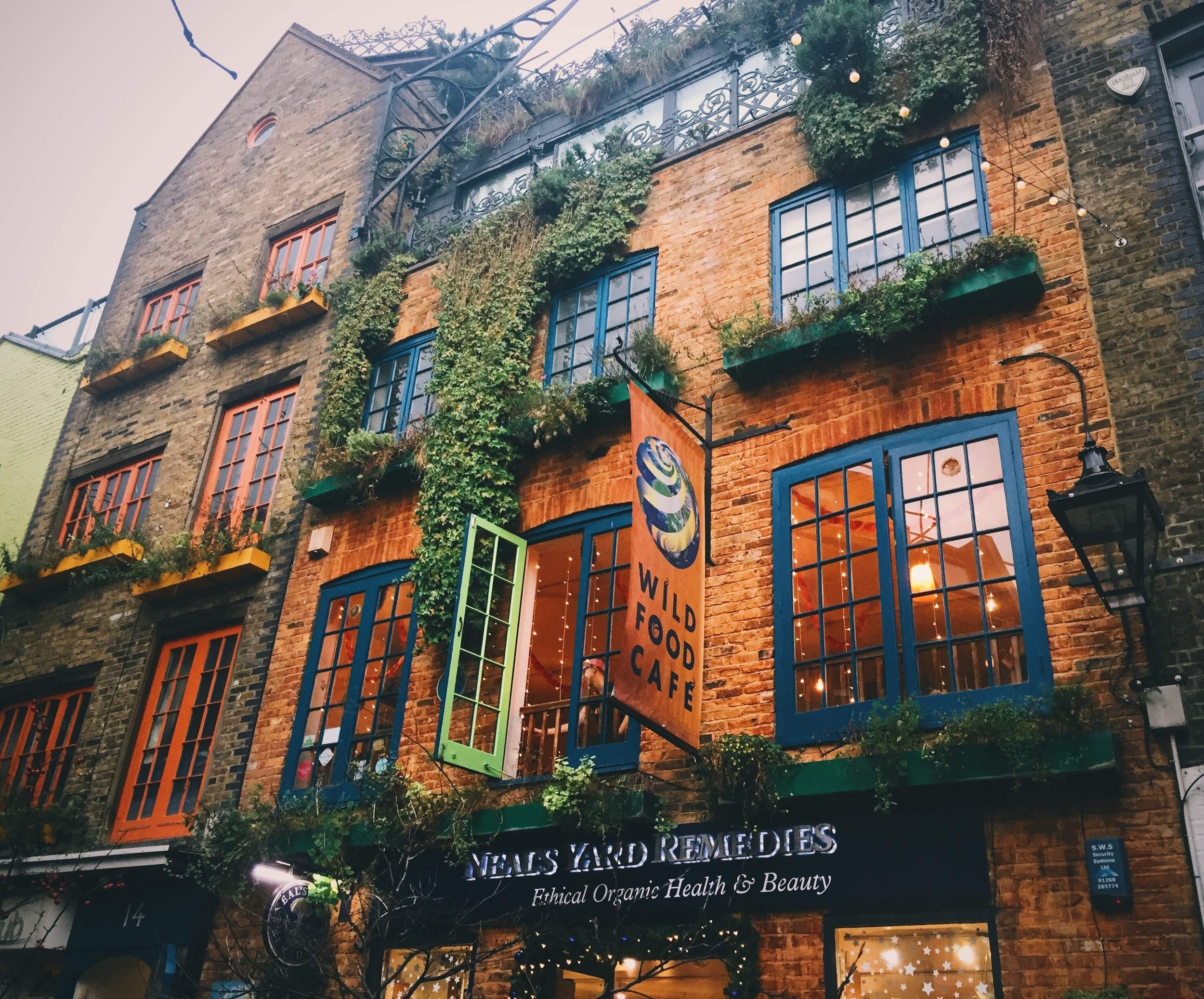 Neal's Yard Remedies , Covent Garden.
