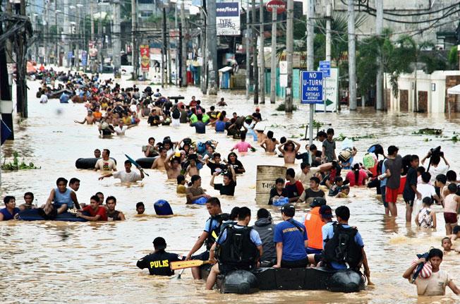 Manilla Floods 2004
