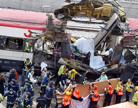 Madrid Train Bombing 2004