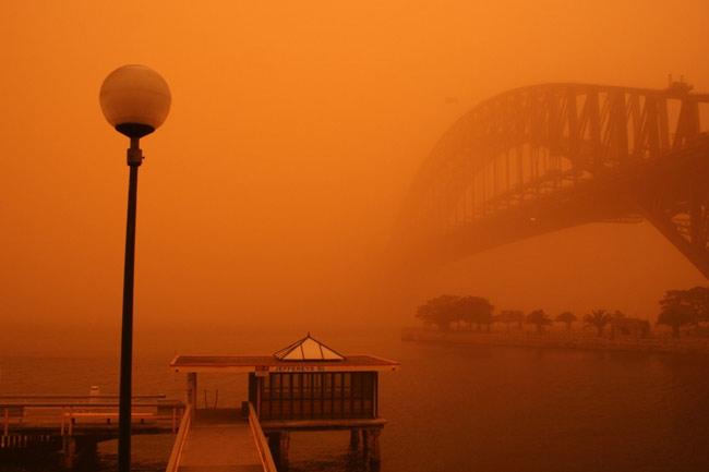 Dust Storm, Sydney Australia 2011