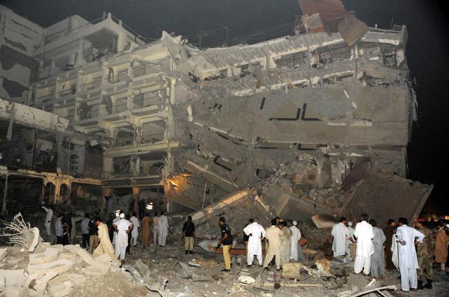 Pearl Intercontinental Bombing 2009
