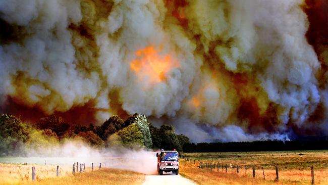 Black Saturday Bushfire Australia 2011