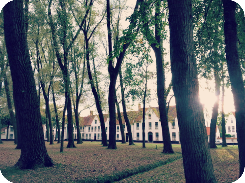 The Beguinage  Ten Wijngaerde is quite a world of its own. © Eileen Hsieh