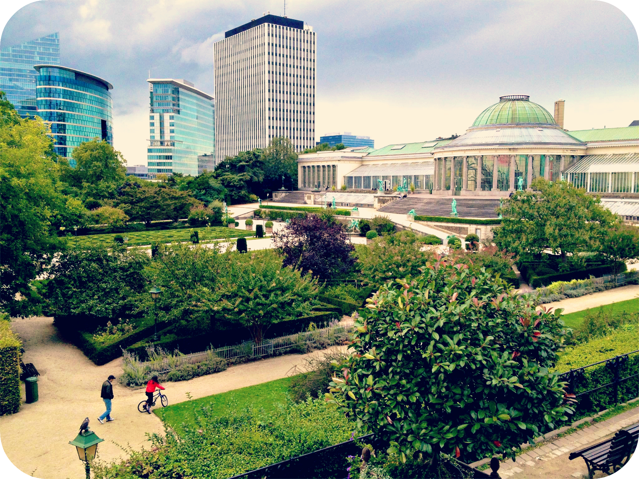 Botanical Garden of Brussels.  © Eileen Hsieh