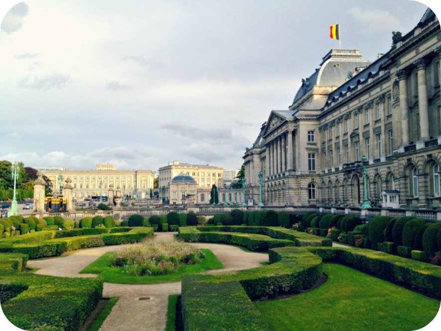 The Royal Palace of Brussels.  © Eileen Hsieh