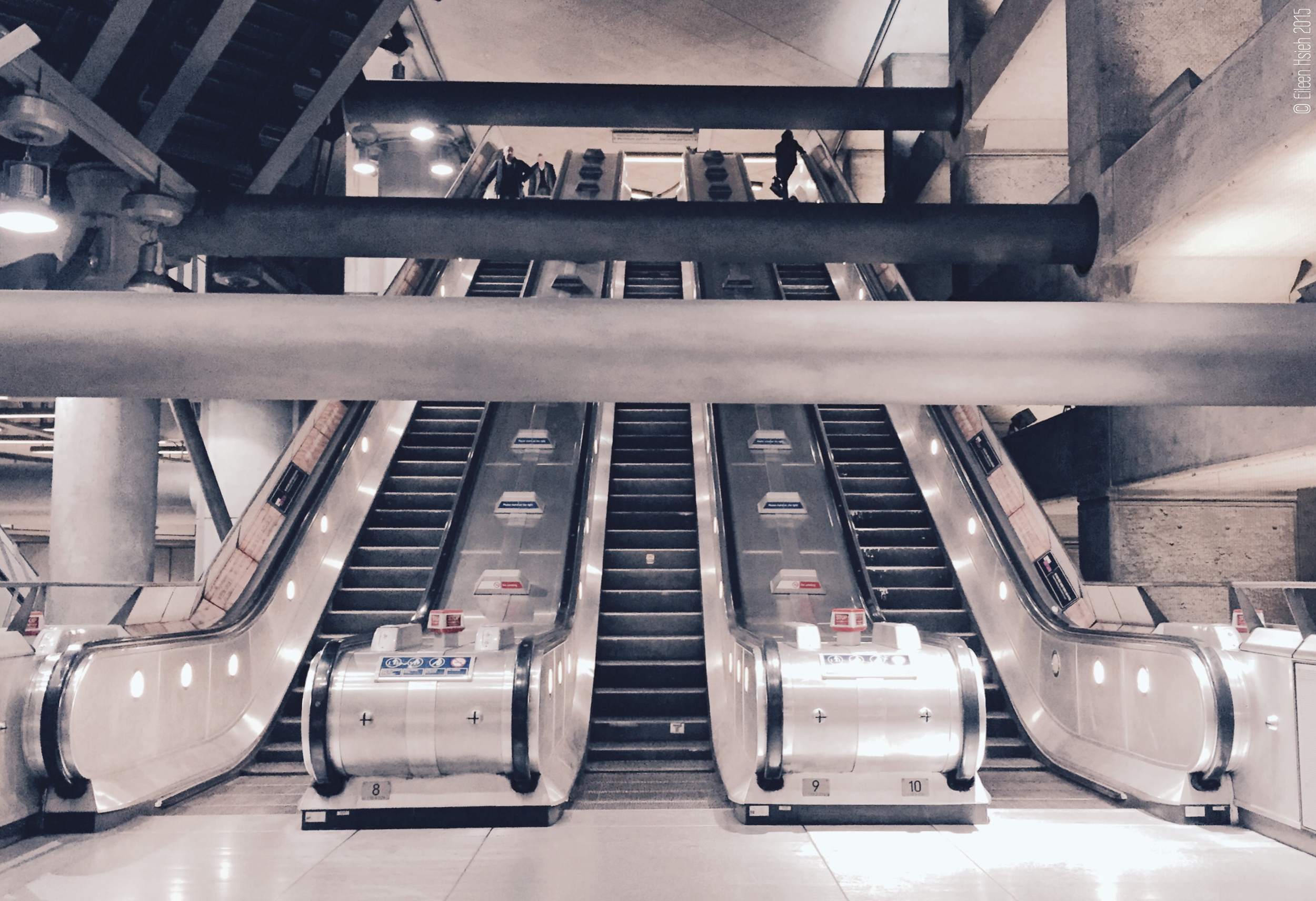 The minimalist design ofWestminster Underground Station has earned it numerous architectural accolades. © Eileen Hsieh