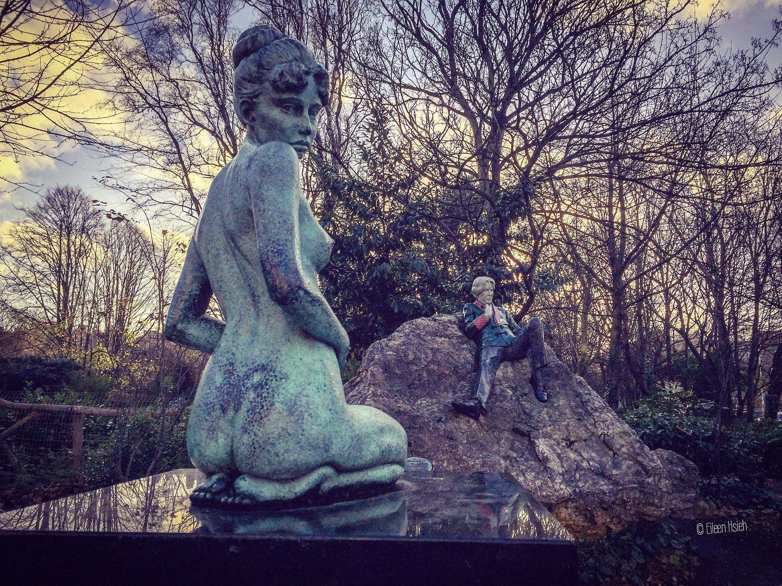 Dublin Oscar Wild Constance statue followthatbug follow that bug eileen hsieh