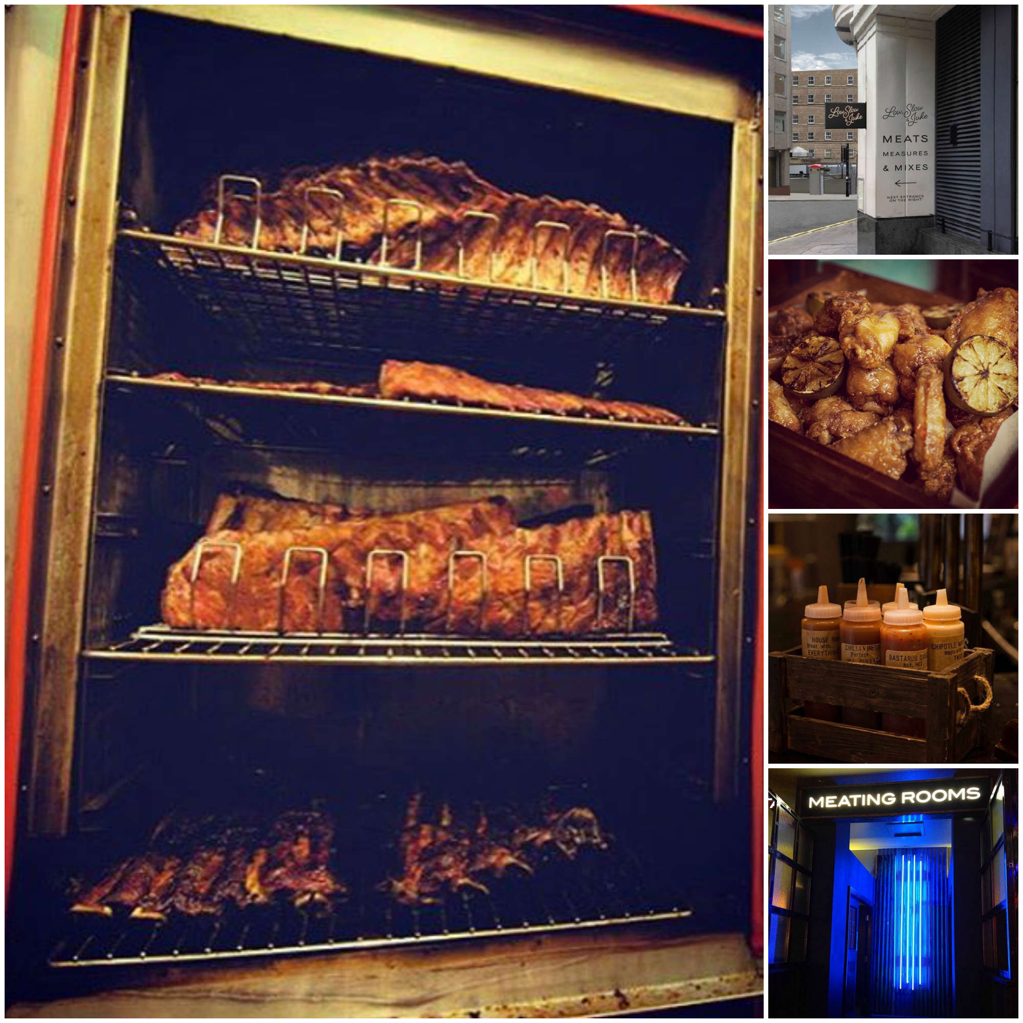 Low, Slow & Juke wants to win over London with slow smoked BBQ and cocktails. (Images: Low, Slow & Juke)