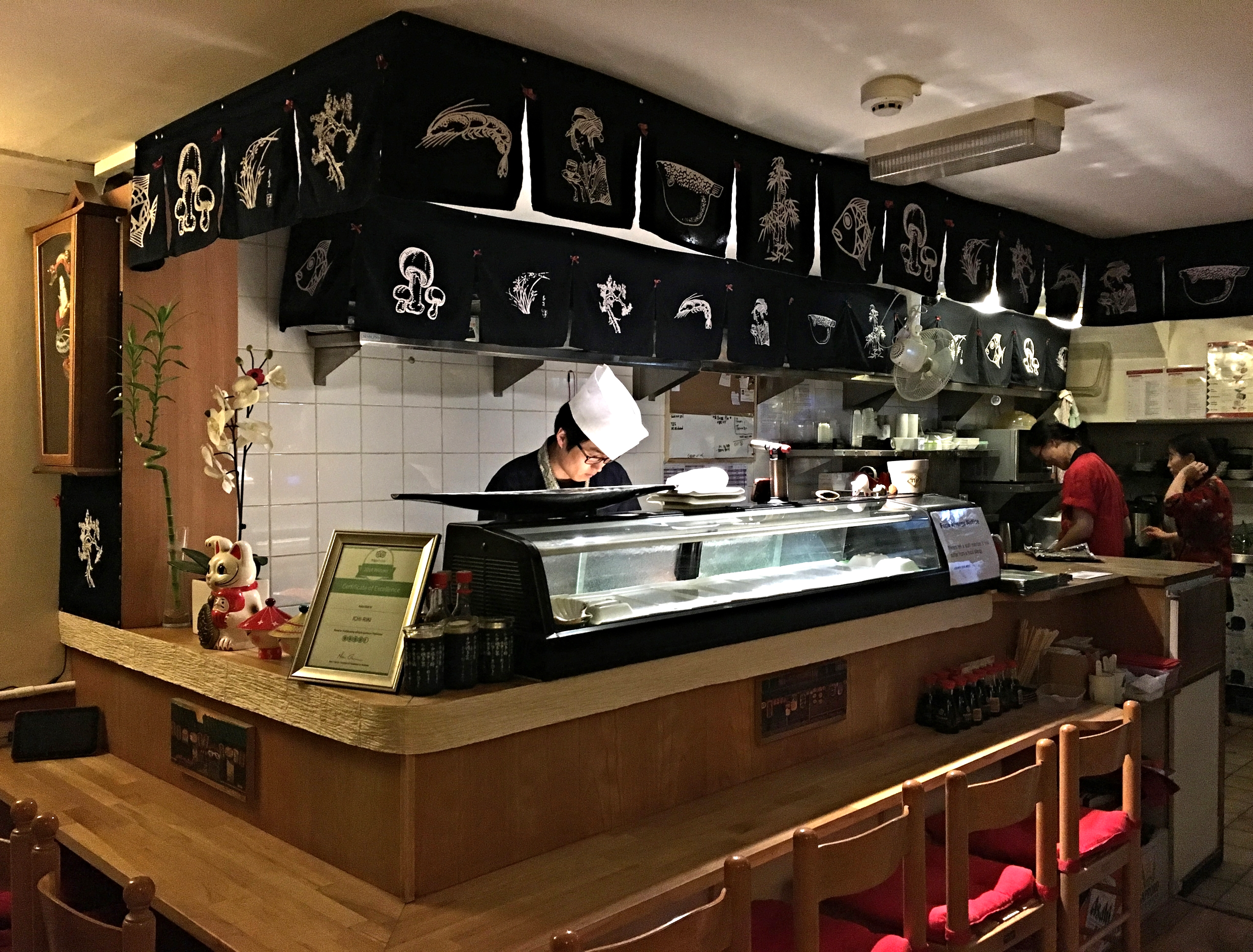 Ichi-Riki is a tiny Japanese restaurant that packs a punch. (Image: Eileen Hsieh)
