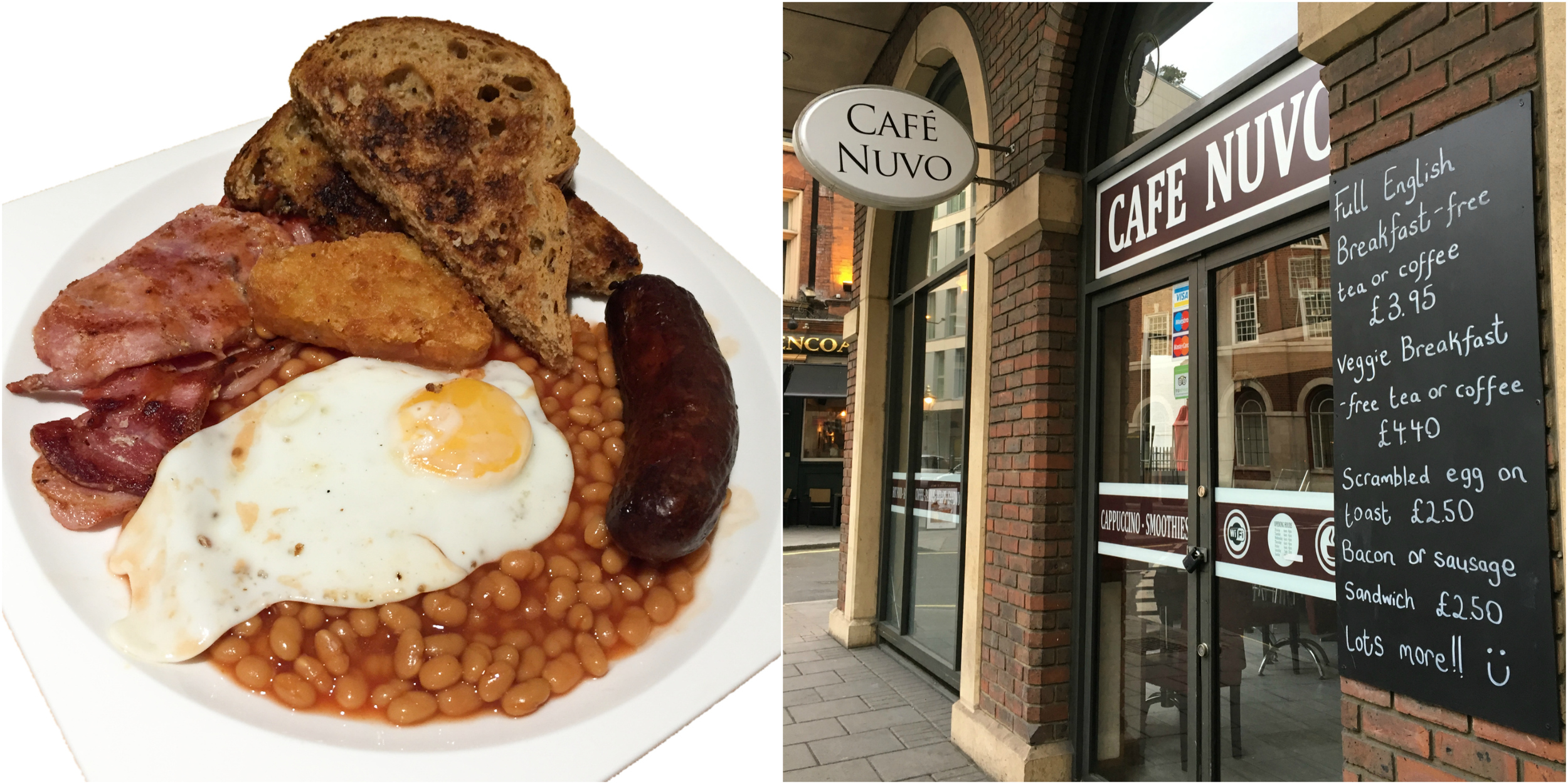 Cafe Nuvo offers simple and tasty breakfast and lunch items and a comfortable upstairs seating area. (Images: Eileen Hsieh)