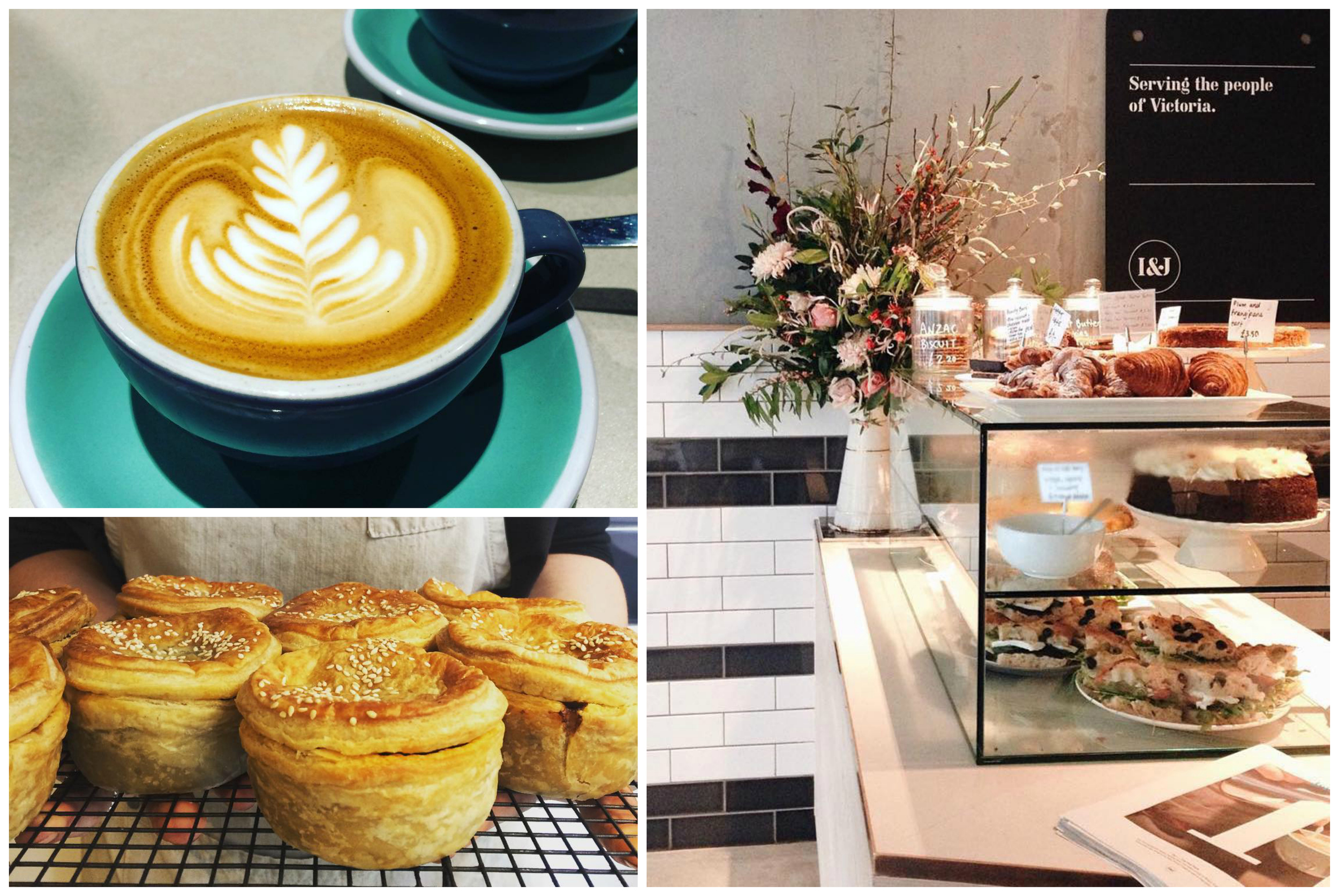 Breakfast, lunch or afternoon tea, anytime is a good time for an Iris & June coffee. (Images:  Iris & June Instagram )