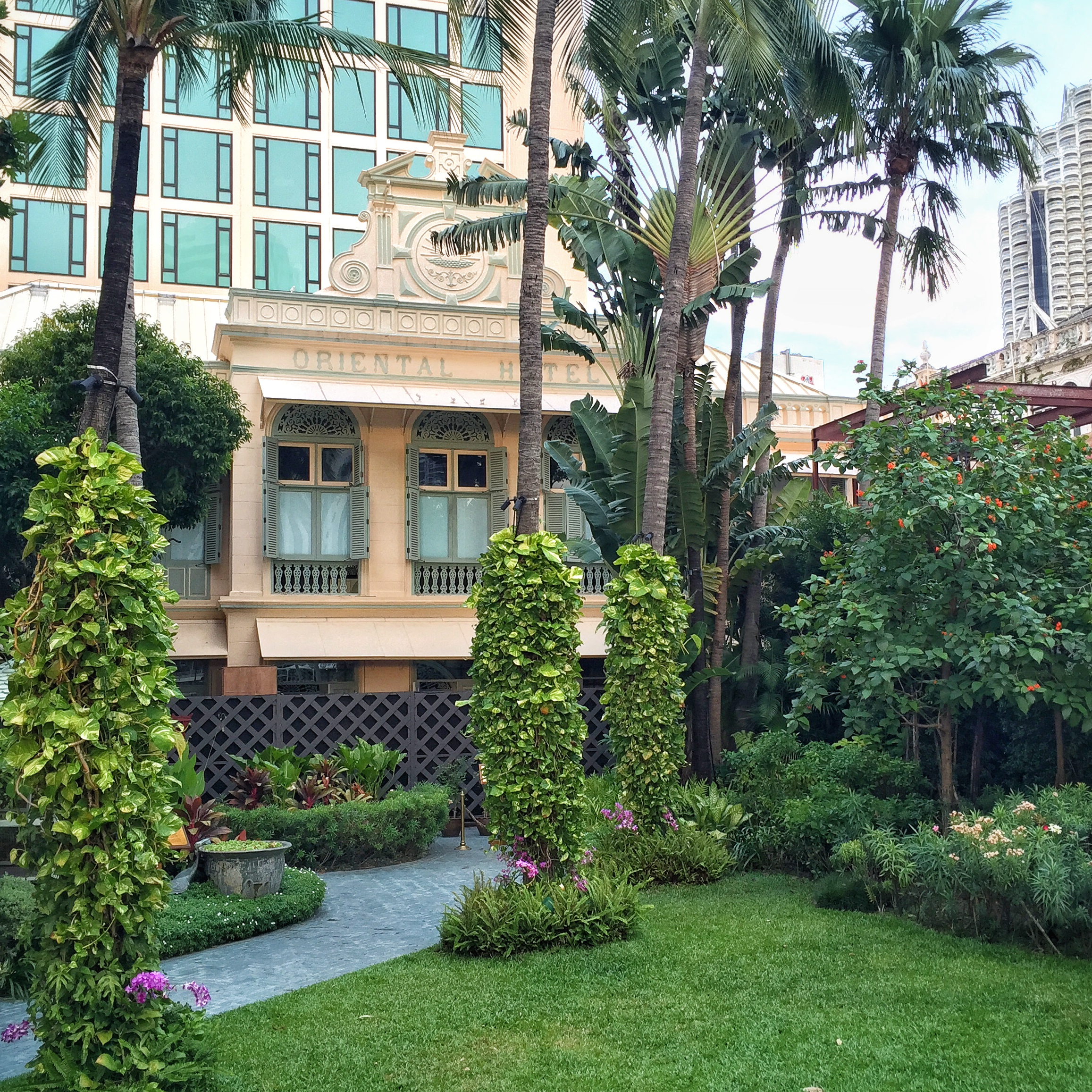 The Oriental Hotel opened its doors in 1876 and is the predecessor of today's Mandarin Oriental Bangkok.   ©  Eileen Hsieh