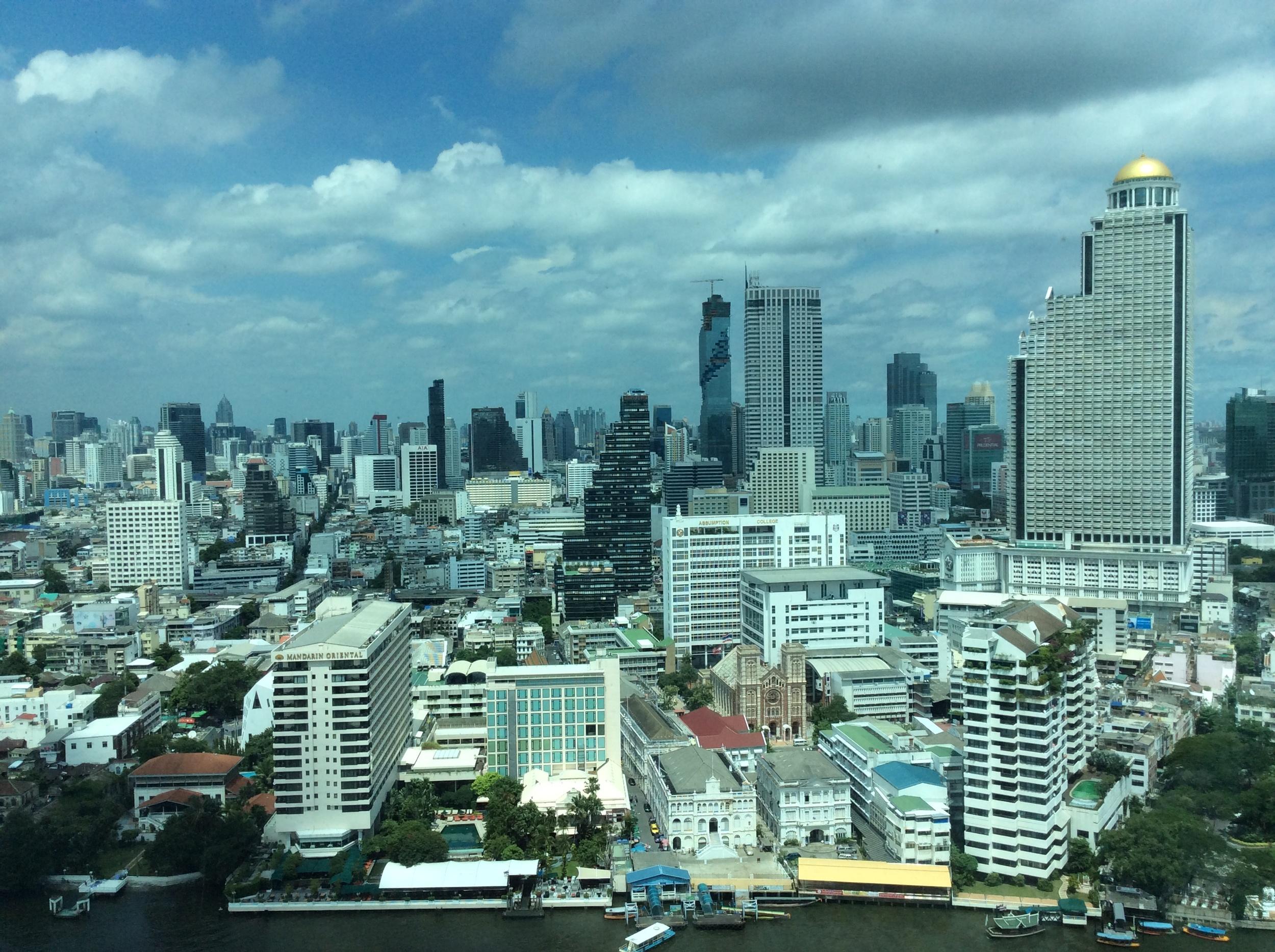 View of Mandarin Oriental Bangkok from across the river. © Eileen Hsieh