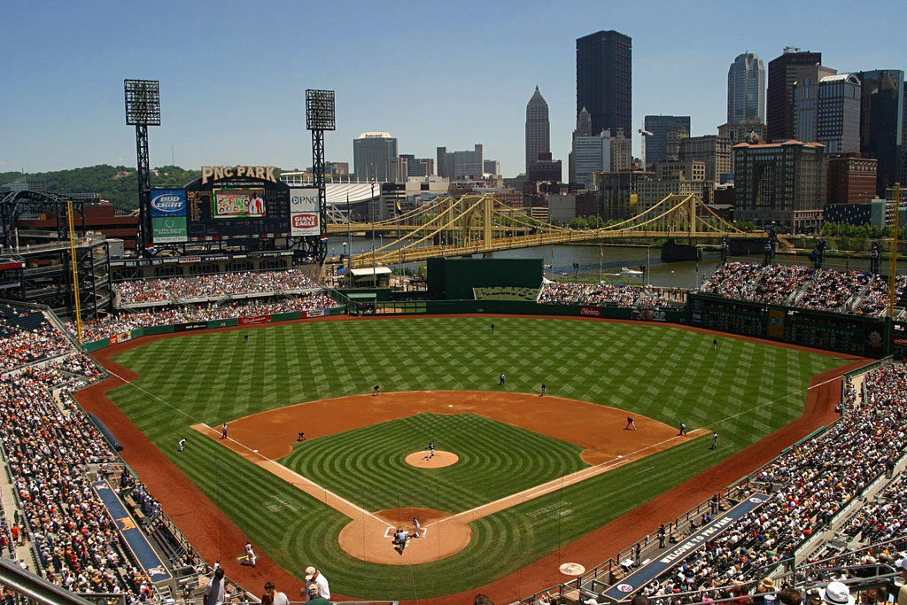 PNC Park - home of the Pittsburgh Pirates (Image: Wikipedia)