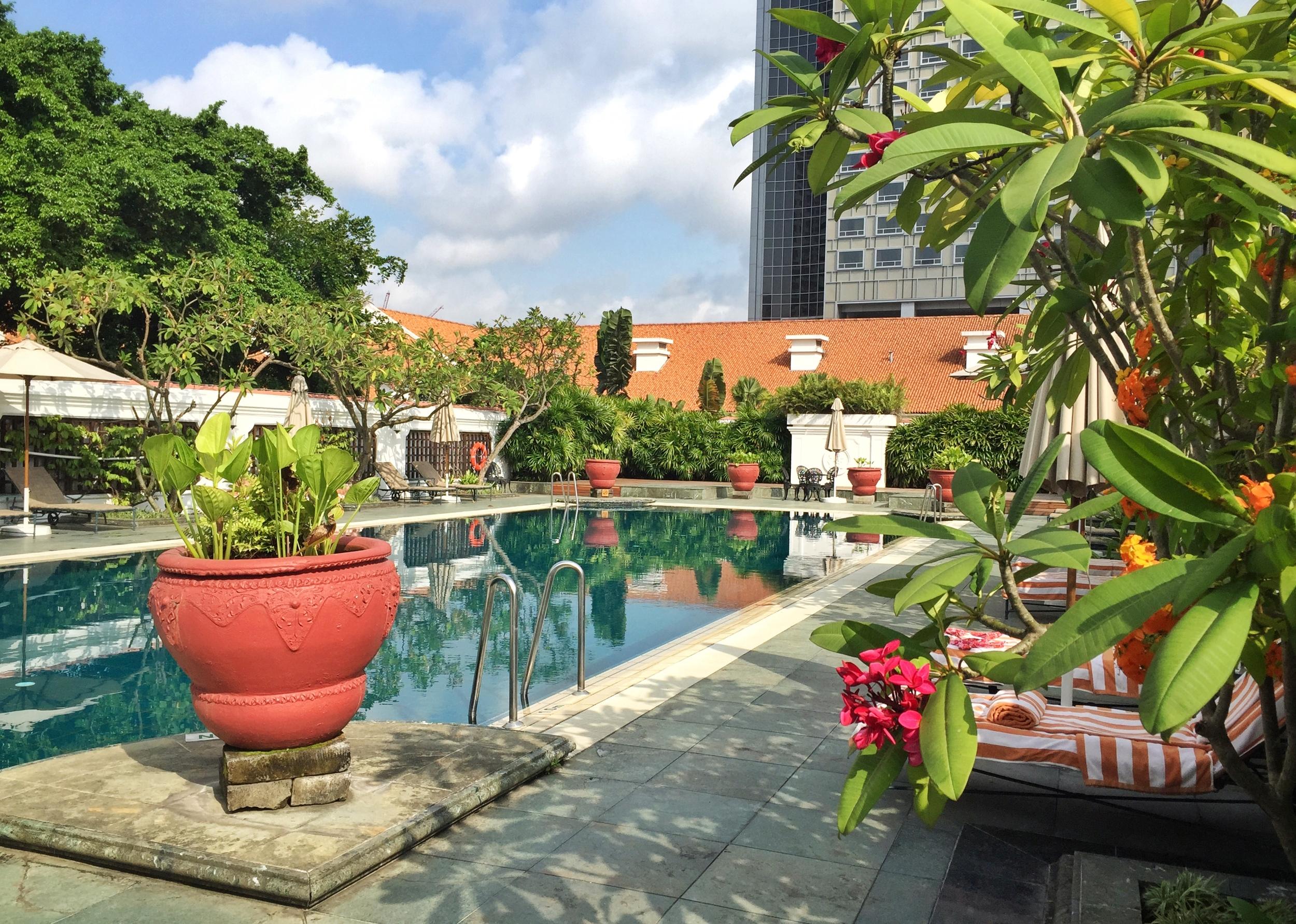 Rooftop pool.© Eileen Hsieh