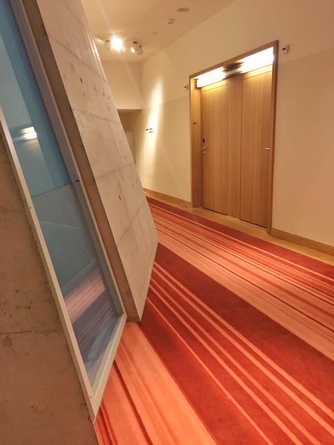 Hotel corridors. /© Eileen Hsieh