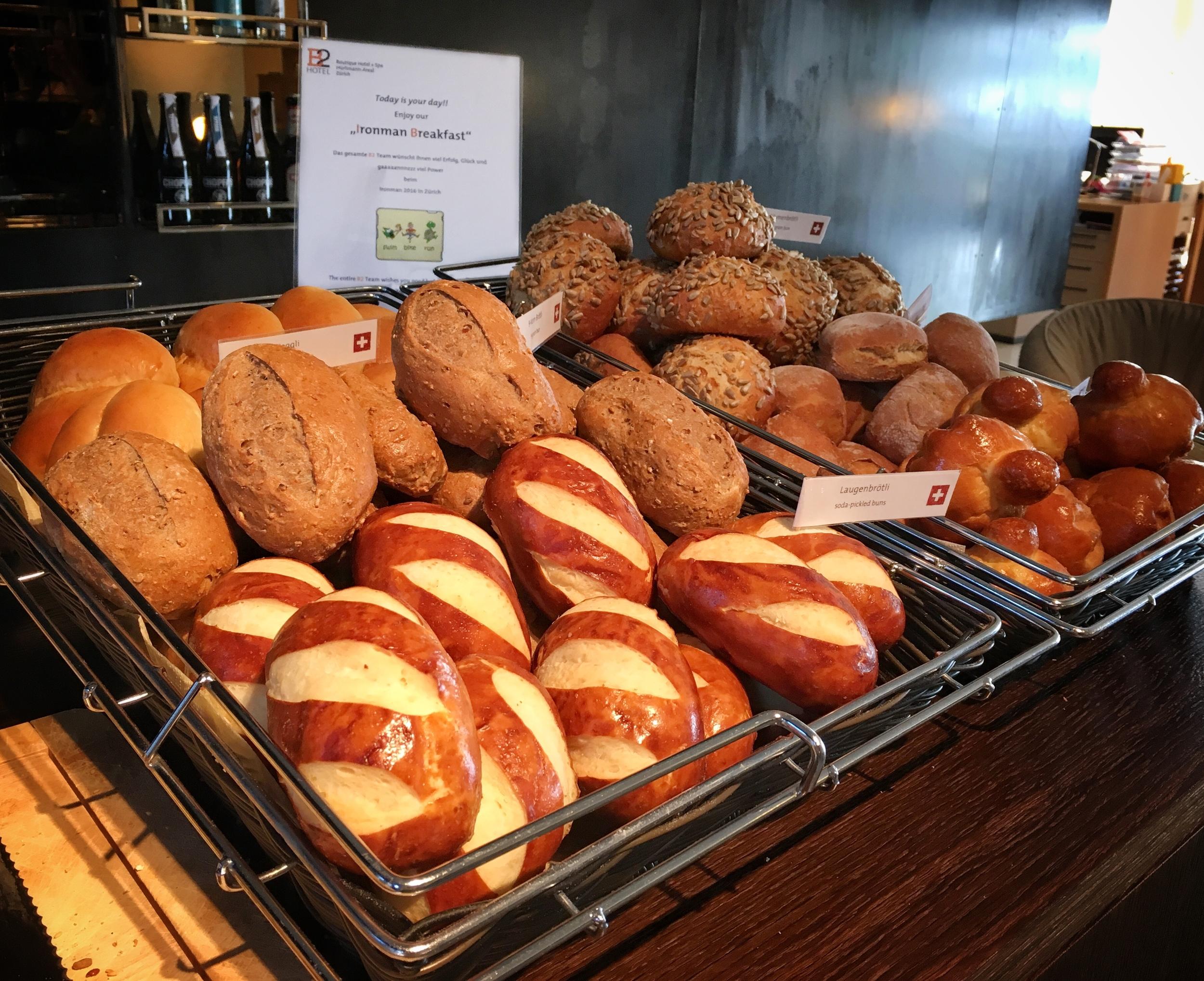 Breads from Switzerland./© Eileen Hsieh