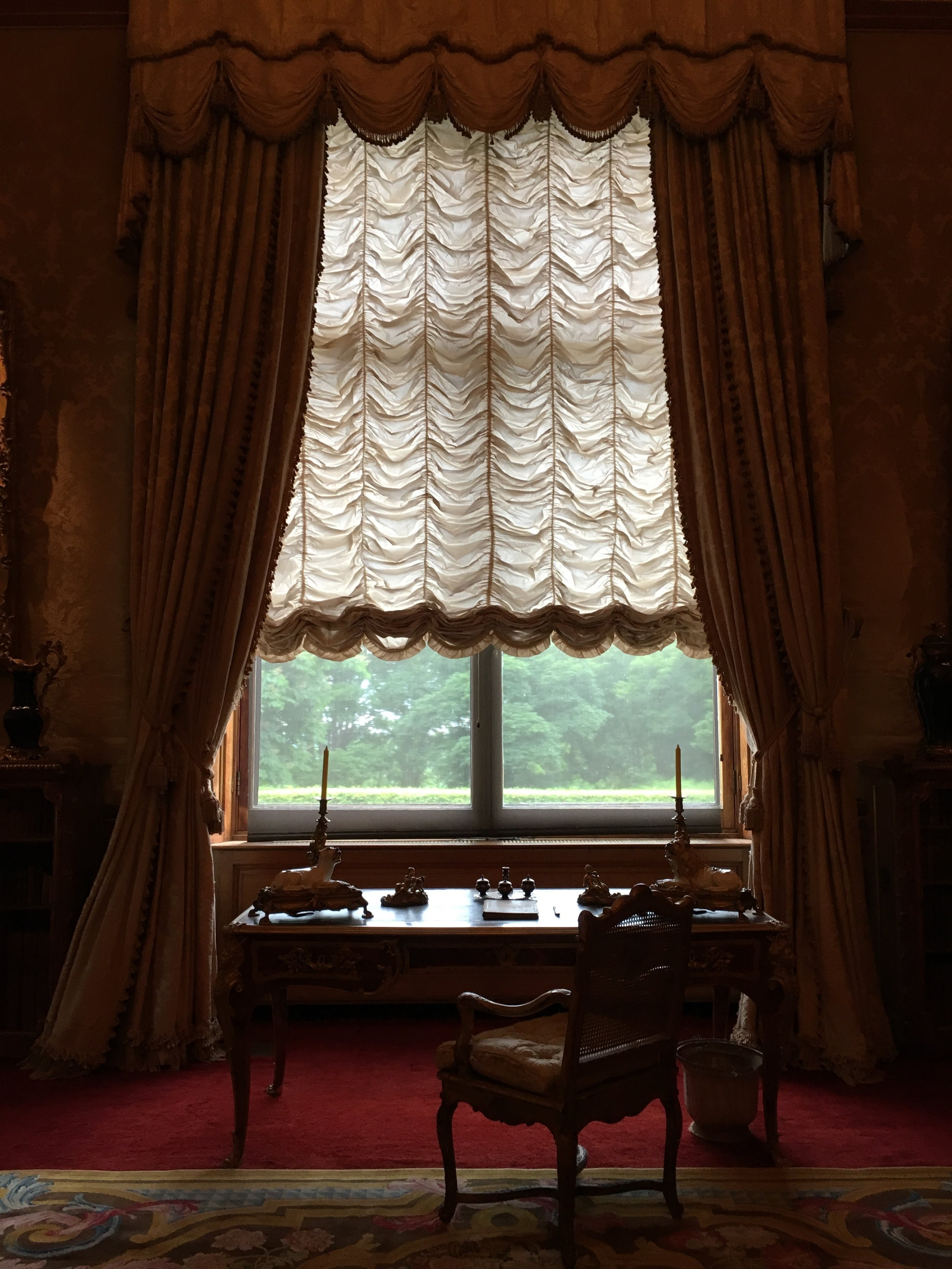 UK Waddesdon Manor study National Trust French Chateau Rothschild Buckinghamshire garden chateau Eileen Hsieh Follow That Bug .jpg