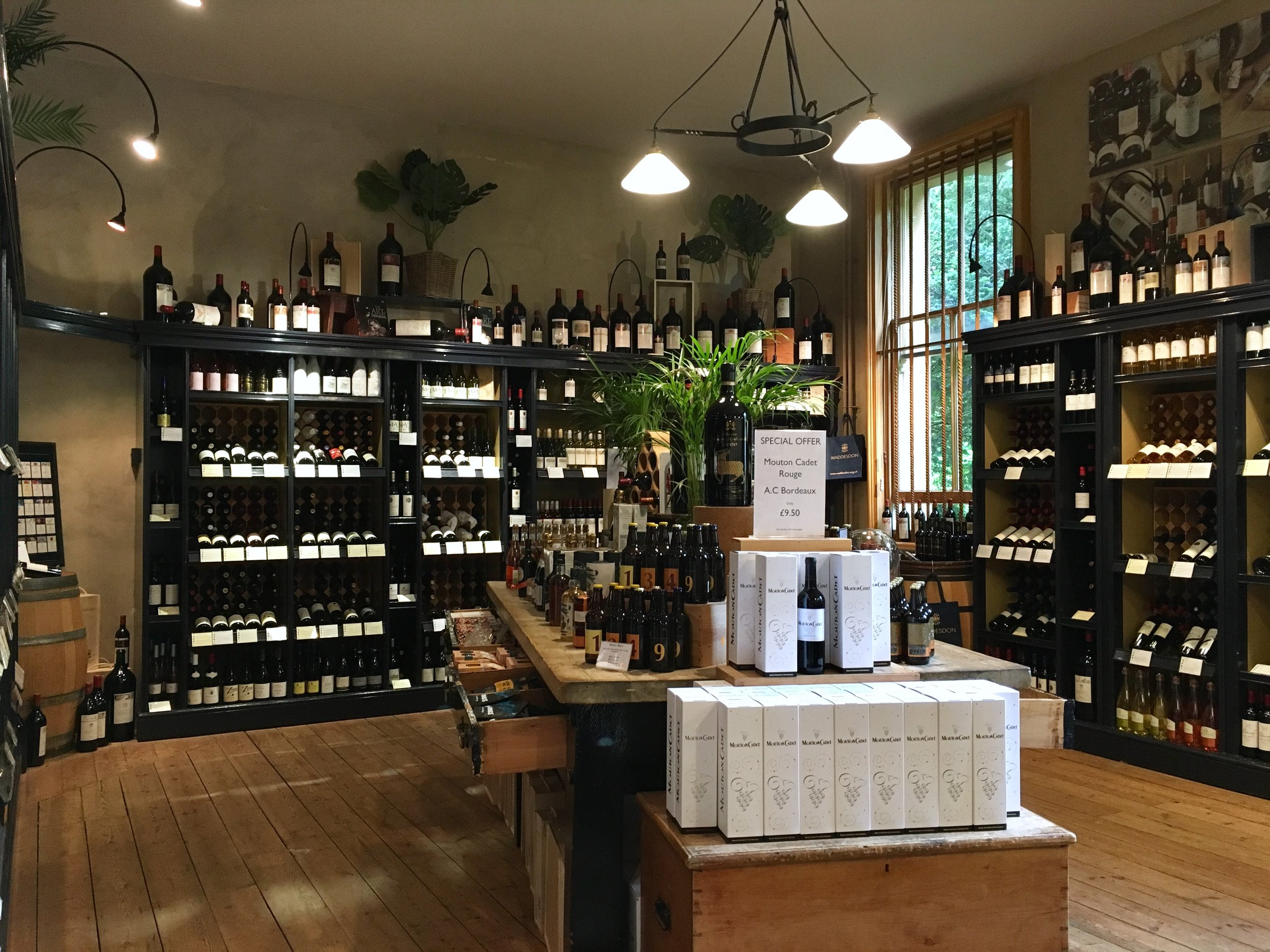 UK Waddesdon Manor wine shop National Trust French Chateau Rothschild Buckinghamshire garden chateau Eileen Hsieh Follow That Bug .jpg