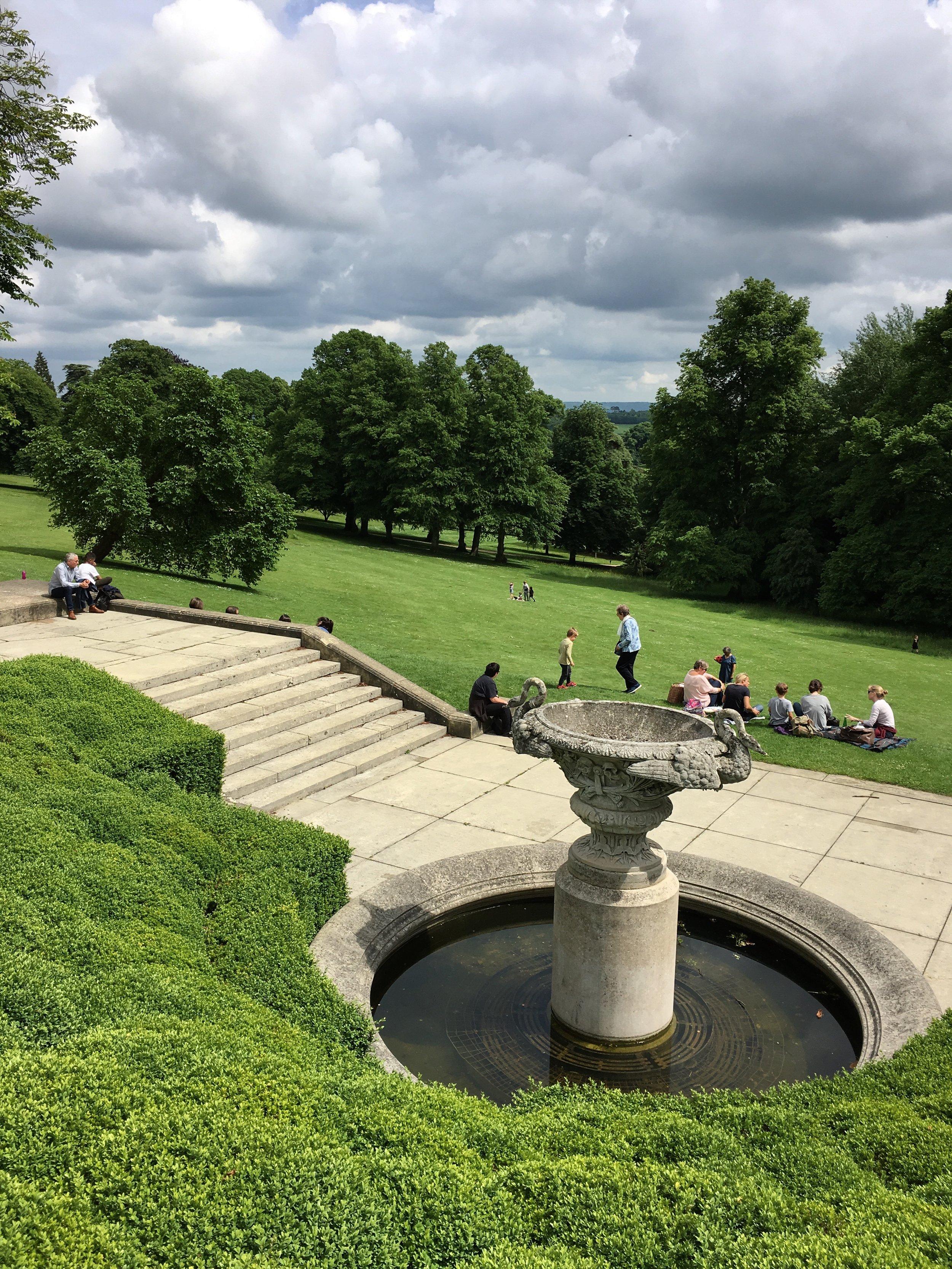 Eileen Hsieh follow that bug Waddesdon Manor english garden england