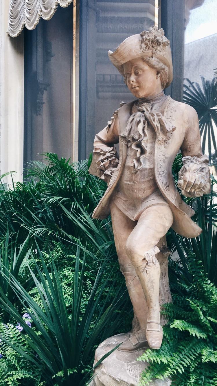 Eileen Hsieh follow that bug Waddesdon Manor conservatory boy sculpture.jpg