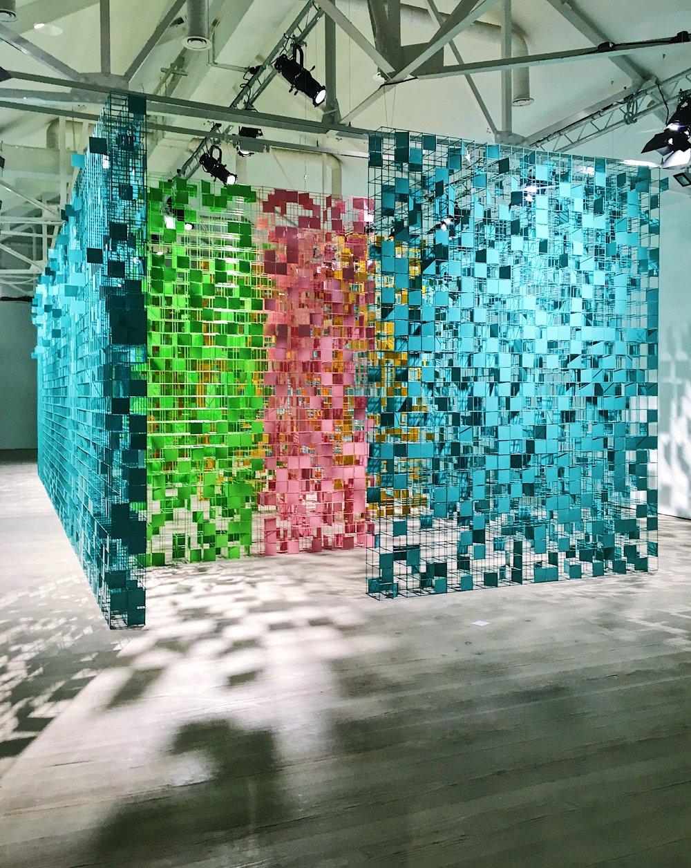 Rashid Khalifa Saatchi Gallery London Eileen Hsieh followthatbug follow that bug modern art maze labyrinth.jpg